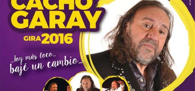Siguiendo con los espectáculos en el Cine Teatro Pampero vuelve a Guatraché con su nuevo show Cacho Garay El día 27 de julio – 21,30 horas. Entradasnumeradas en venta en […]