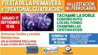 Fiesta de la Primavera en Guatraché, la consigna es: sin alcohol y sin droga !!! Se realiza de día y será una jornada para compartir en familia, junto a la […]