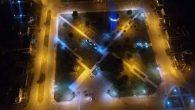 Imagen de la Plaza Independencia de noche !!!