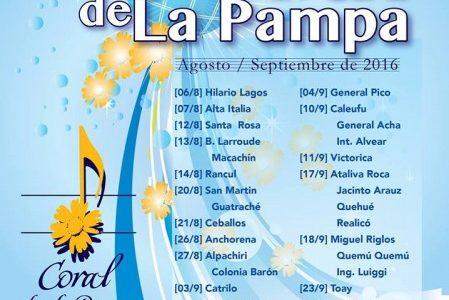El XIV Coral de La Pampa continúa su extensa programación, que incluye 28 conciertos distribuidos en 27 localidades de nuestra provincia durante los meses de agosto y septiembre. El Séptimo […]