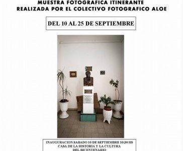 Por medio de la presente queremos invitarlos el próximo sábado 10 de septiembre a las 10:30 horas a la inauguración de la muestra fotográfica que realizó el Área de Cultura […]