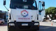 La municipalidad de Guatraché continuando con la renovación del parque automotor del municipioadquirió con fondos propios un camión IVECO ATTACK 170E22 RSU equipado para realizar la recolección de residuos.