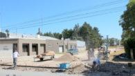 Continuando con las Obras de las distintas calles , se está realizando de manera total el badén en las calles Avenida Zeballos y 6 de Octubre-